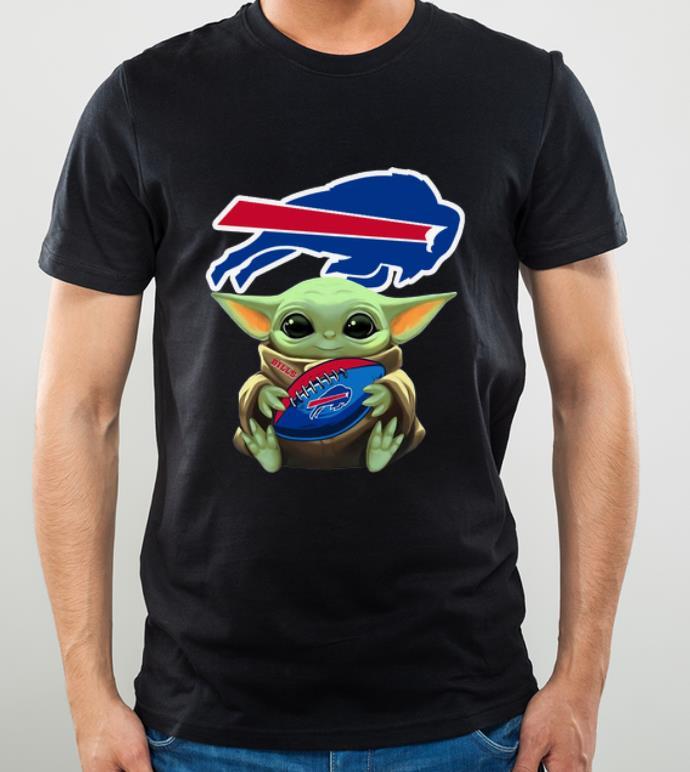 Premium Football Baby Yoda Hug Buffalo Bills NFL shirt