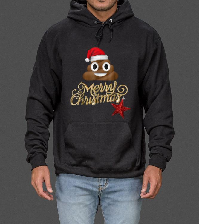 Pretty Poop Emoji Christmas - Funny Costume X-Mas Gift Idea sweater