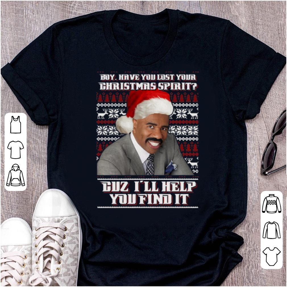 Pretty Santa Steve Harvey Boy Have You Lost Your Christmas Spirit Shirt 1 1.jpg