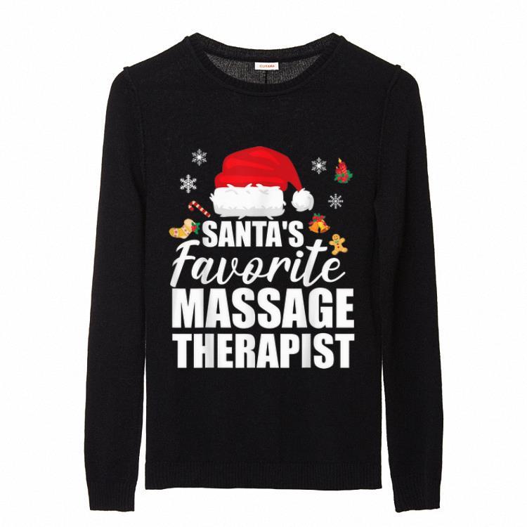 Santa S Favorite Massage Therapist Funny Christmas Gift Sweater 2 1.jpg