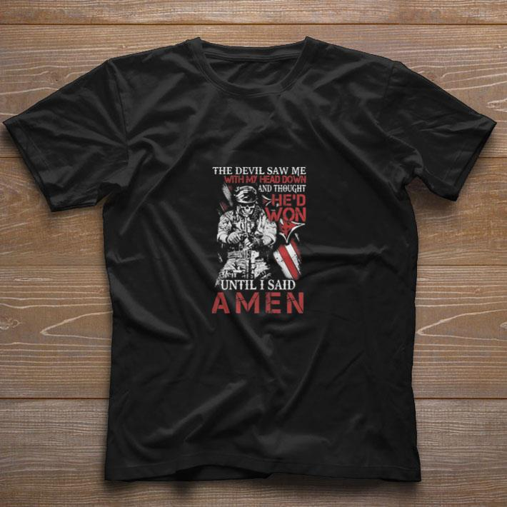 Skull Veteran The Devil Saw Me With My Head Down And Amen Shirt 1 1.jpg