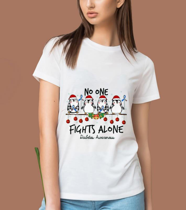 Top Penguin Santa No One Fights Alone Christmas Shirt 2 1.jpg