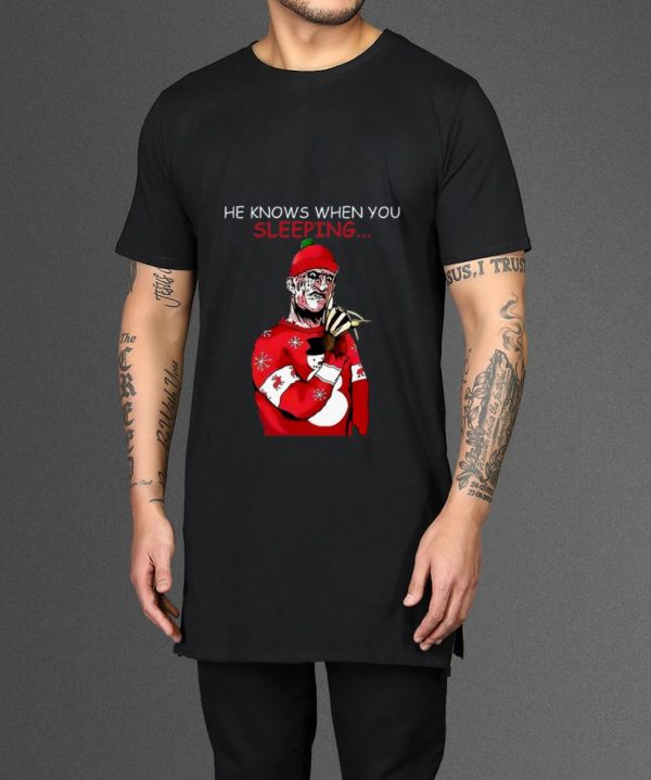 Top Santa Freddy Krueger He Knows When You Re Sleeping Shirt 2 1.jpg