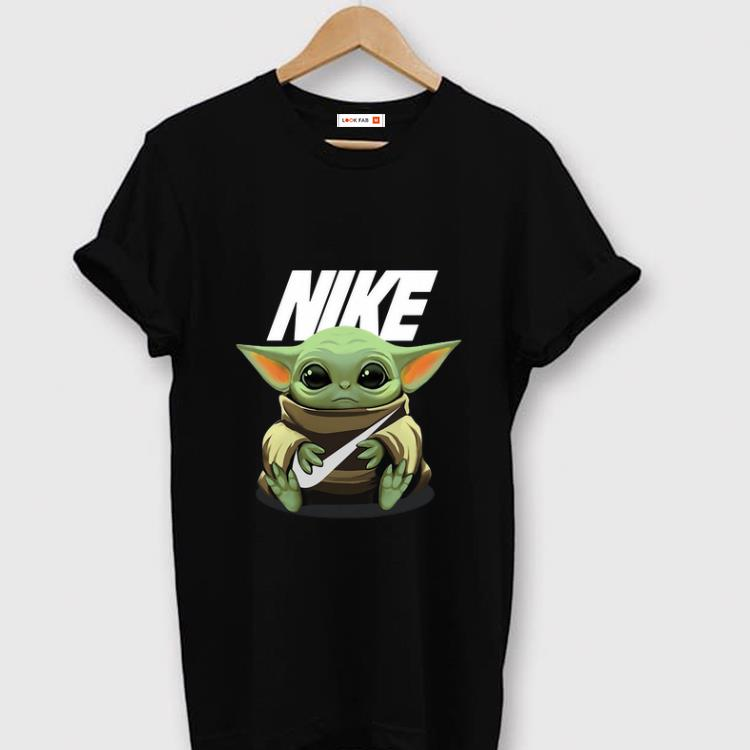 Hot Baby Yoda Hug Nike Shirt 1 1.jpg