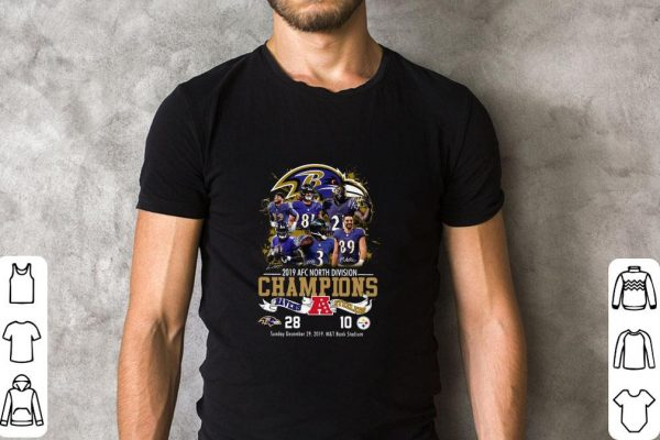 Hot Baltimore Ravens 2019 Afc North Division Champions Ravens Vs Steelers Shirt 2 1.jpg