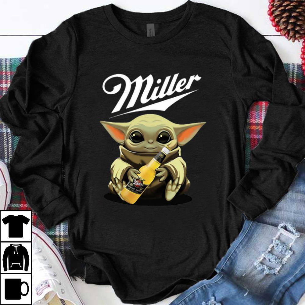 Pretty Baby Yoda Hug Miller Genuine Draft Shirt 1 1.jpg