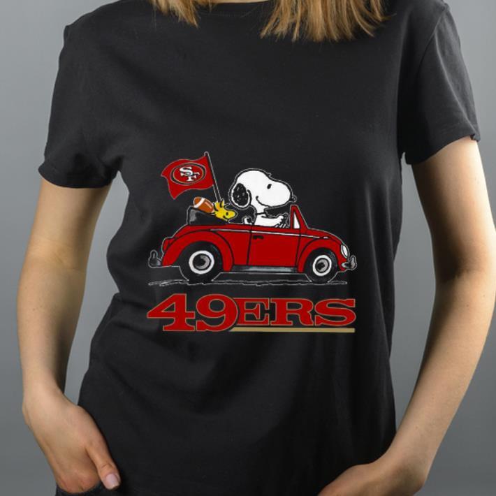 Pretty Snoopy Driving Volkswagen San Francisco 49ers shirt