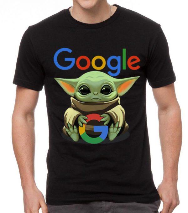 Pretty Star Wars Baby Yoda Hug Google Shirt 2 1.jpg