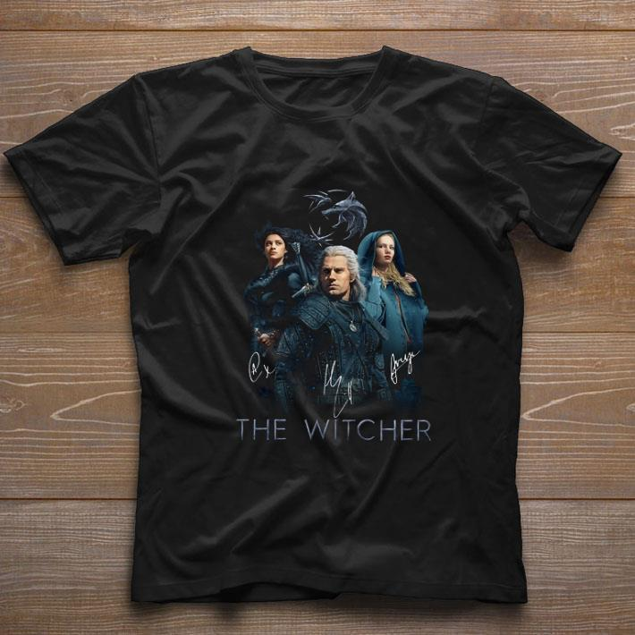 Top The Witcher Logo All Signature Autographed Shirt 1 1.jpg