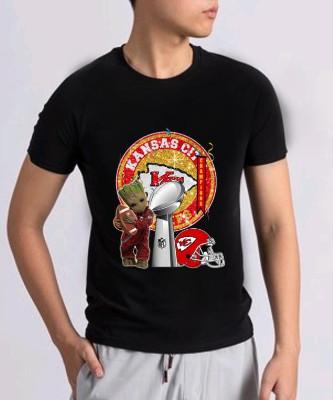Awesome Baby Groot Hug Footbal Kansas City Chiefs Super Bowl Champions Shirt 2 1.jpg