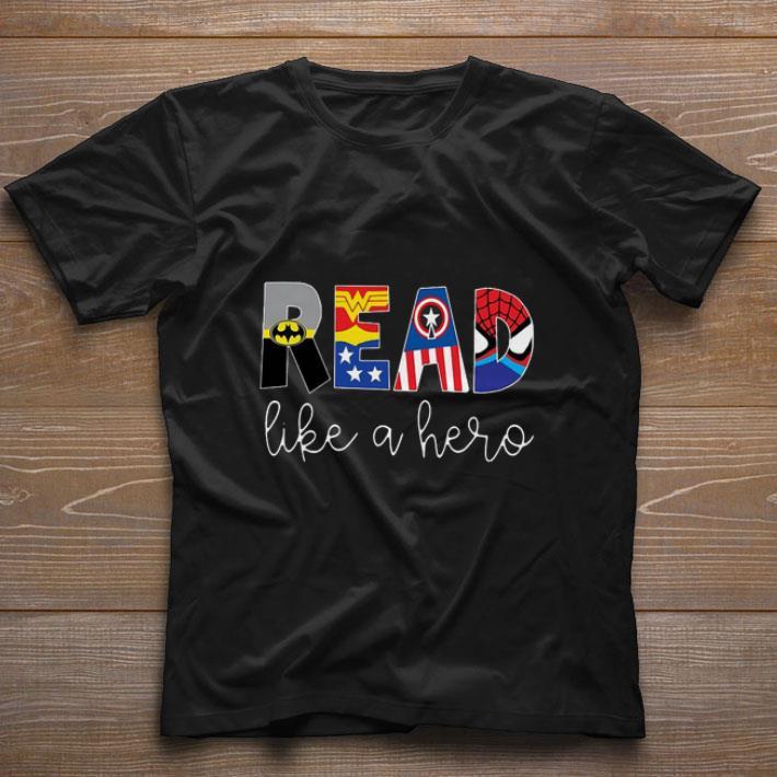 Awesome Superheroes Symbol Read Like A Hero Shirt 1 1.jpg