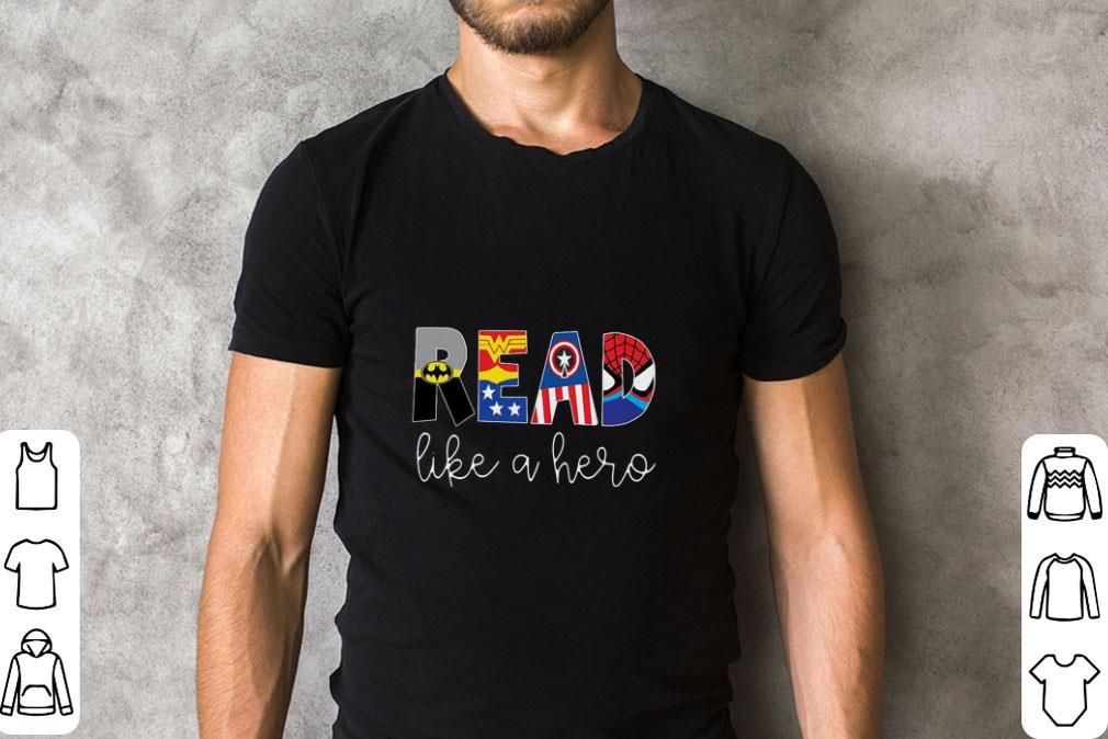 Awesome Superheroes Symbol Read Like A Hero Shirt 2 1.jpg