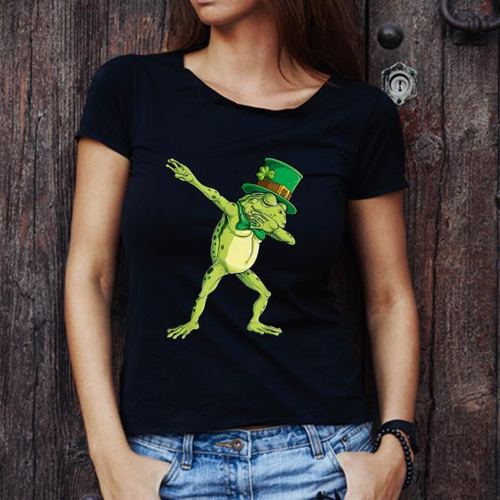 Beautiful Dabbing Frog St Patricks Day Boys Kids Leprechaun Animal Dab Shirt 3 1.jpg