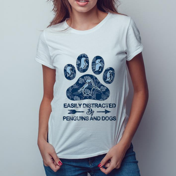 Great Easily Distracted By Penguins And Dogs Shirt 3 1.jpg