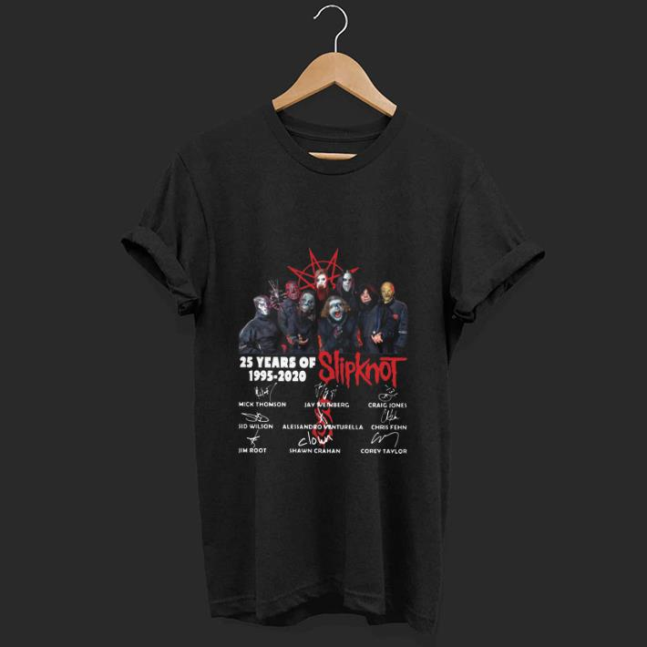 Nice 25 Years Of Slipknot 1995 2020 Signatures Shirt 1 1.jpg