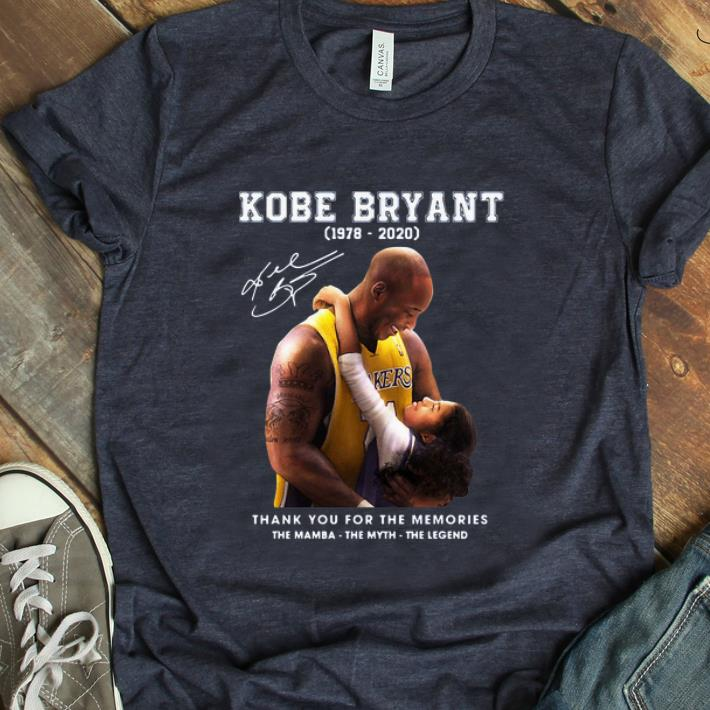 Nice Rip Kobe Bryant And Gigi Thank You For The Memories The Mamba The Myth The Legend Signature Shirt 1 1.jpg
