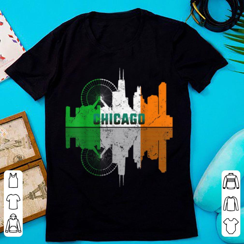 Nice St Patricks Day Chicago Il City Irish Flag Shamrock Gift Shirt 1 1.jpg