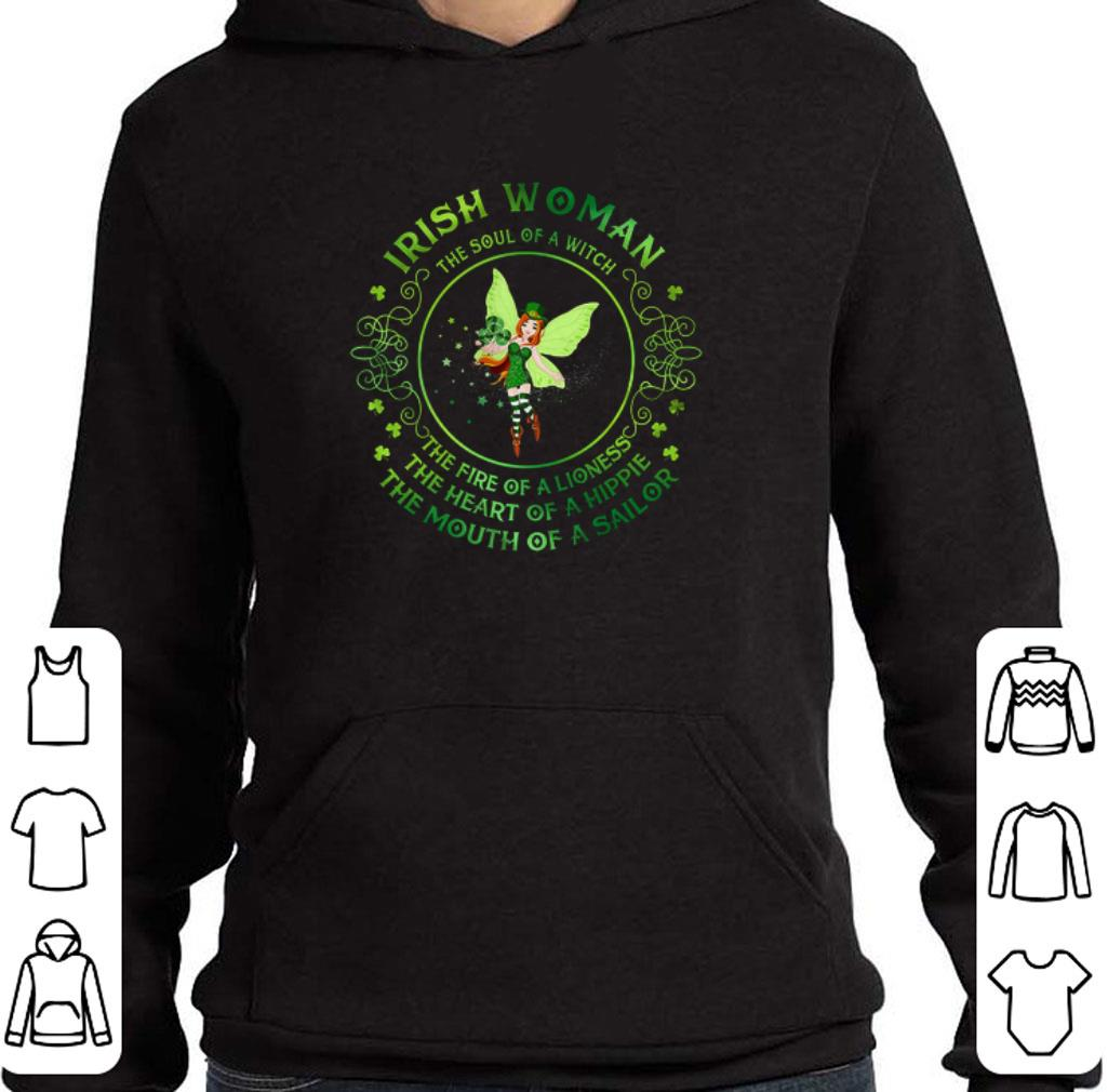 Official Irish woman the soul of a witch the fire of a lioness St Patrick shirt