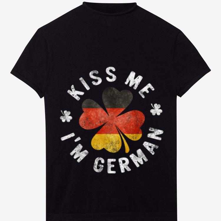 Official Kiss Me I M German St Patrick S Day Germany Gift Shirt 1 1.jpg