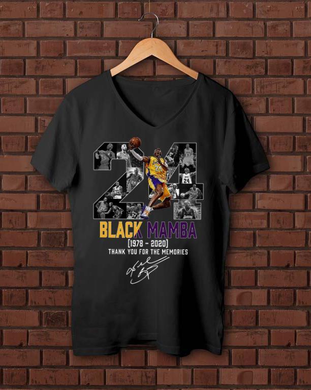 Original 24 Black Mamba Kobe Bryant 1978 2020 Thank You For The Memories Shirt 1 1.jpg