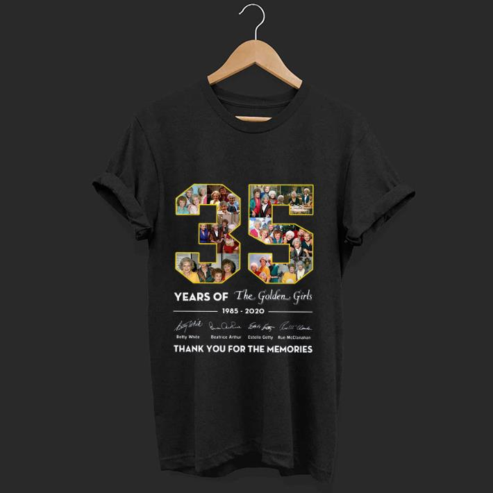 Awesome 35 Years Of The Golden Girls Thank You For The Memories Signatures Shirt 1 1.jpg
