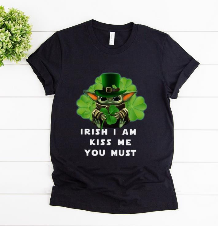 Awesome Baby Yoda Leprechaun Hug Shamrock Irish I Am Kiss Me You Must Shirt 1 1.jpg