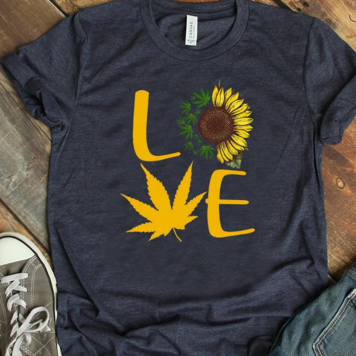 Awesome Marijuana Love Sunflower Shirt 1 1.jpg