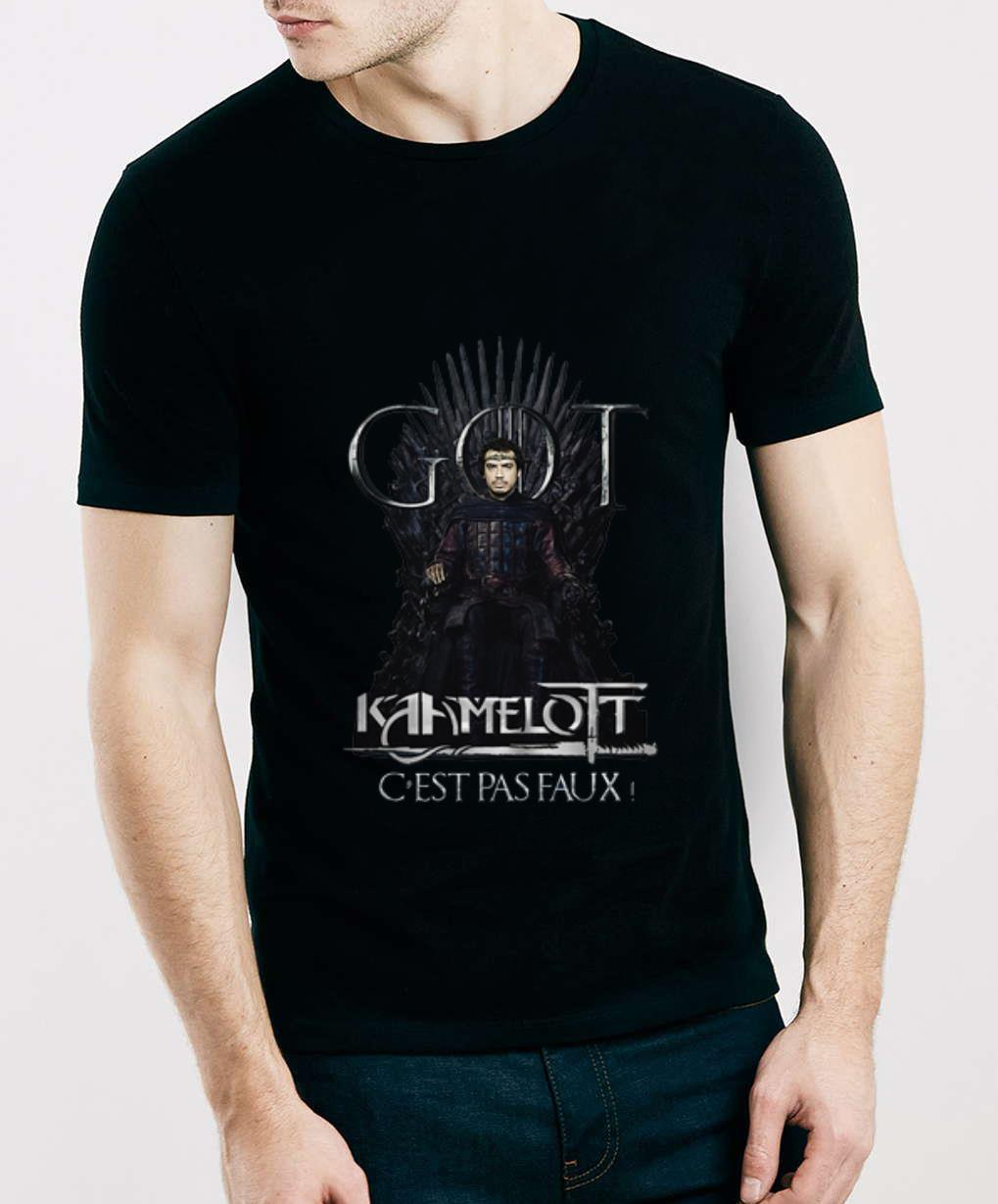 Great Iron Throne Got Kaamelott C Est Pas Faux Game Of Throne Shirt 3 1.jpg