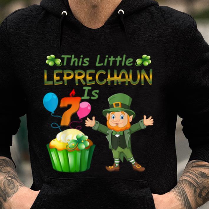 Great This Leprechaun Is 7 Year Old Birthday St Patricks Day Shirt 2 1.jpg
