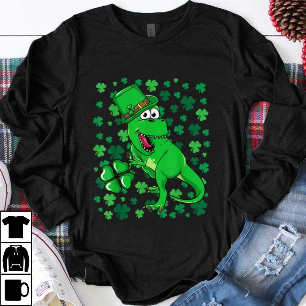 Nice Irish T Rex Dino Leprechaun Funny St Patrick S Day Shamrock Shirt 1 1.jpg