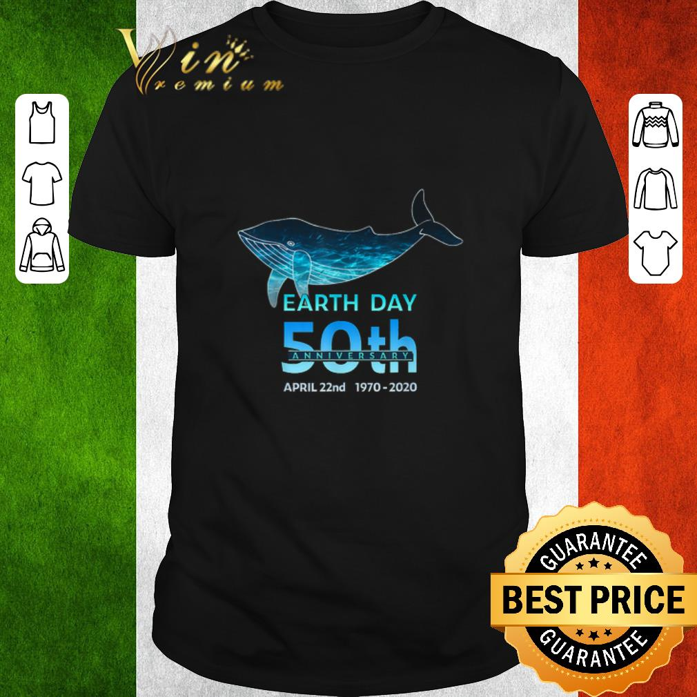 Nice Whale Silhouette Earth Day 50th Anniversary April 22nd Shirt 1 1.jpg