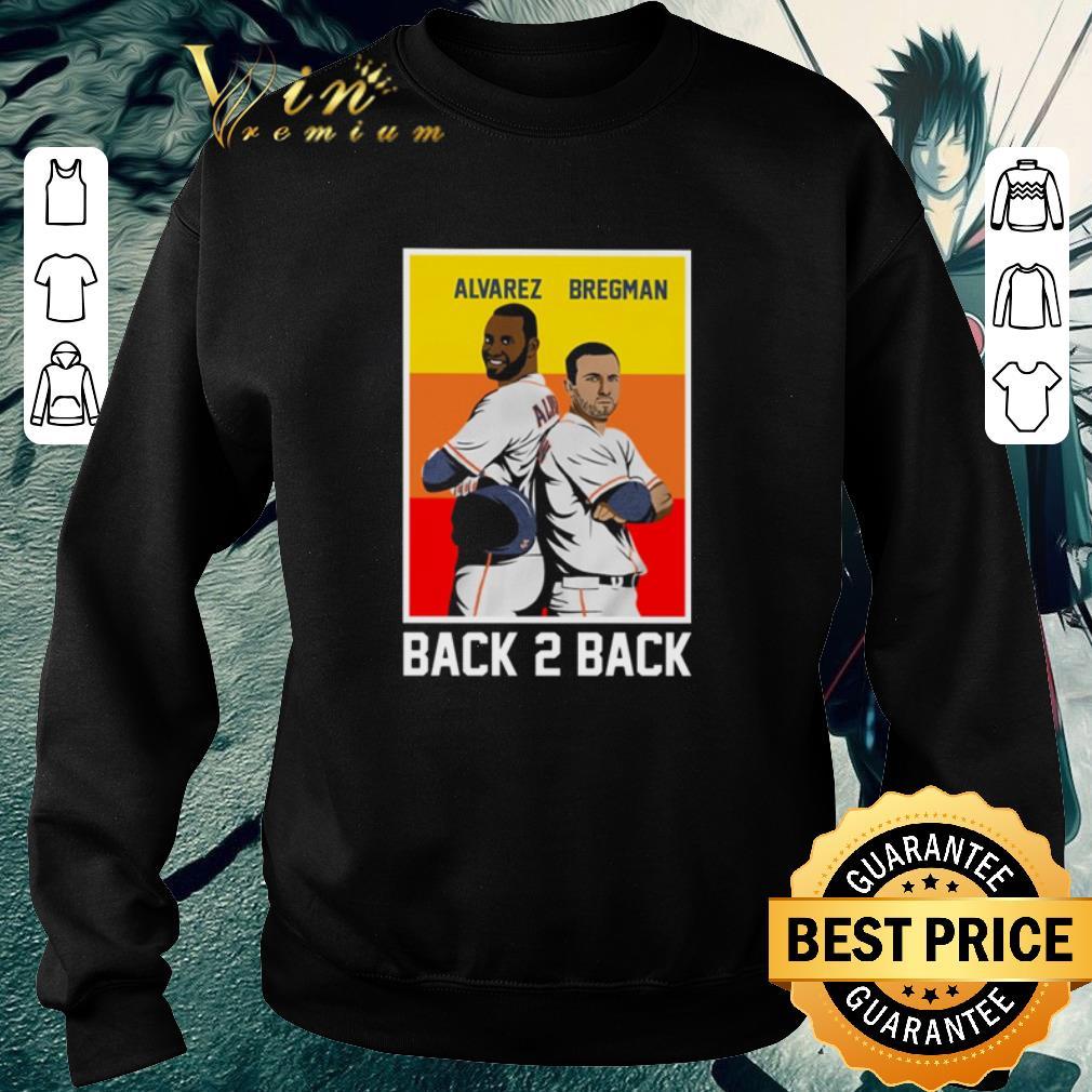 Official Back 2 back Yordan Alvarez and Alex Bregman shirt