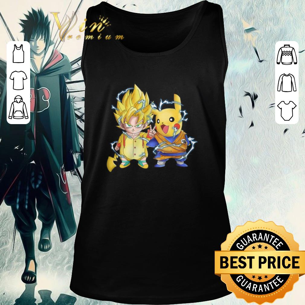 Official Dragon Ball Z Son Goku And Pikachu Shirt 2 1.jpg