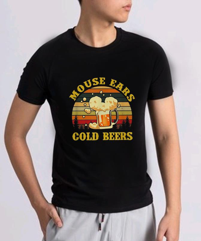 Official Mouse Ears Cold Beers Drinking Vintage Shirt 2 1.jpg