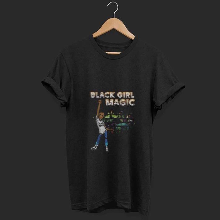 Premium Black Girl Magic I Am Black History Phenomenal Woman Melanin Shirt 1 1.jpg