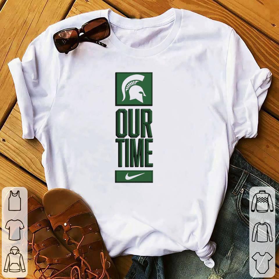 Premium Michigan State Spartans Logo Basketball Our Time 2020 Shirt 1 1.jpg
