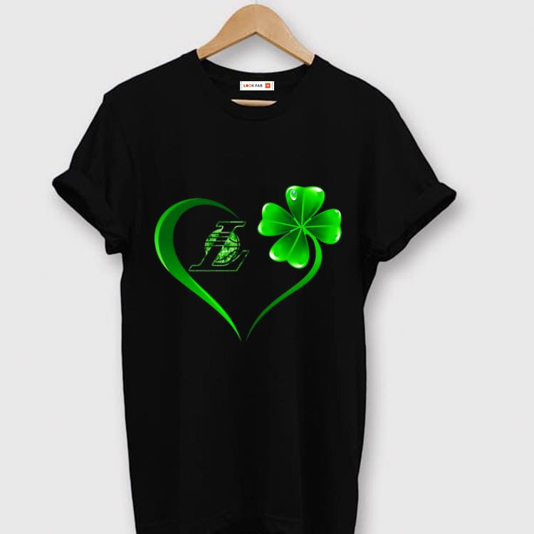 Pretty Heart Irish Los Angeles Laker St Patrick S Day Shirt 1 1.jpg