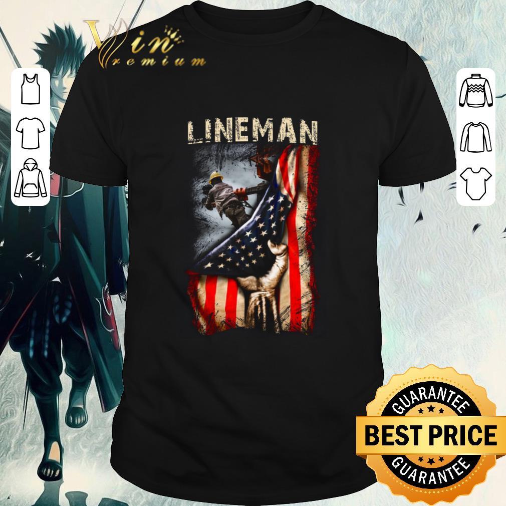 Pretty Lineman American Flag Shirt 1 1.jpg