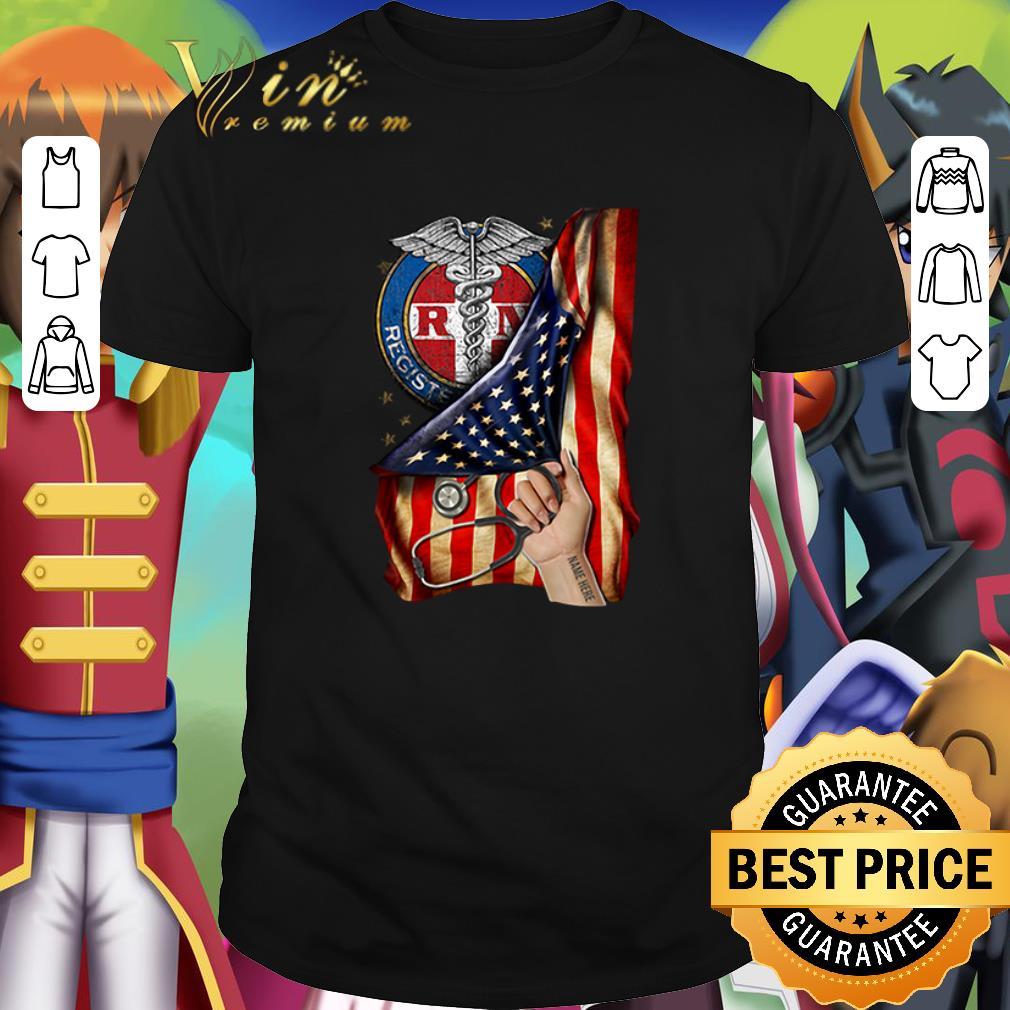Pretty Rn Registered Nurse Inside American Flag Shirt 1 1.jpg