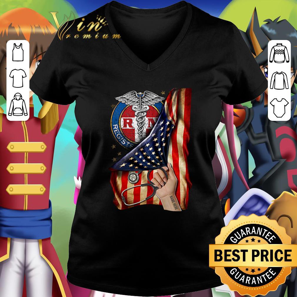 Pretty Rn Registered Nurse Inside American Flag Shirt 2 1.jpg