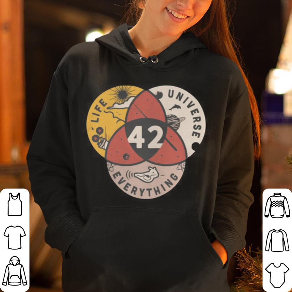 42 The Answer To Life Universe And Everything shirt 4 - 42 The Answer To Life Universe And Everything shirt