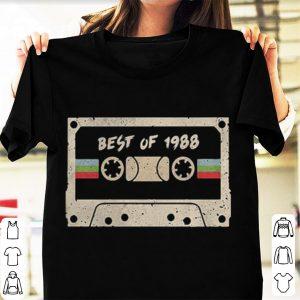 70s mix tape cassette best of 1988 shirt