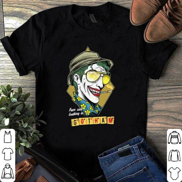 Fear and loathing at Gotham shirt