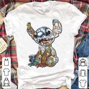 Lilo and Stitch Disney with all Disney characters shirt