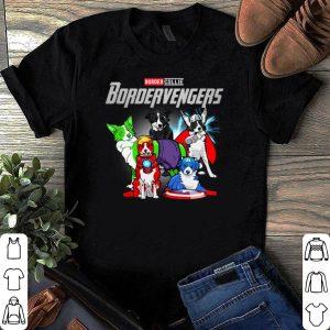 Marvel Avengers Border collie Bordervengers shirt