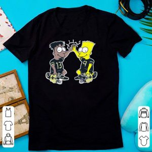 New Orleans Saints Michael Thomas Simpsons Dynamic Duo shirt