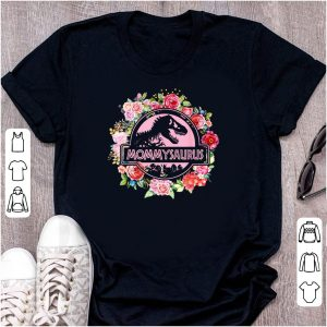 T-Rex Mommysaurus Flower Mom Day shirt