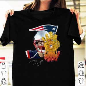 Tom Brady Patriots Thanos shirt