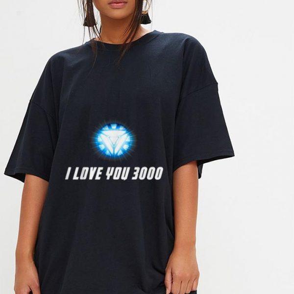 I Love You 3000 End Game Arc Reactor Iron man shirt