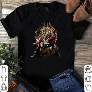 Iron Man Iron Thrones Reading Book shirt